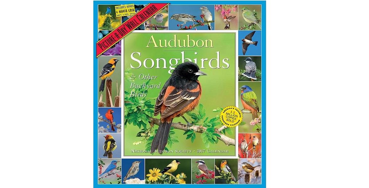Audubon Songbird Calendar.