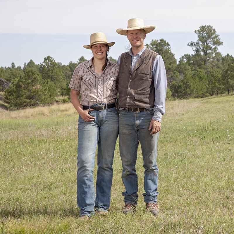 Dan Lorenz and Adrienne Larrew of Corner Post Meats.