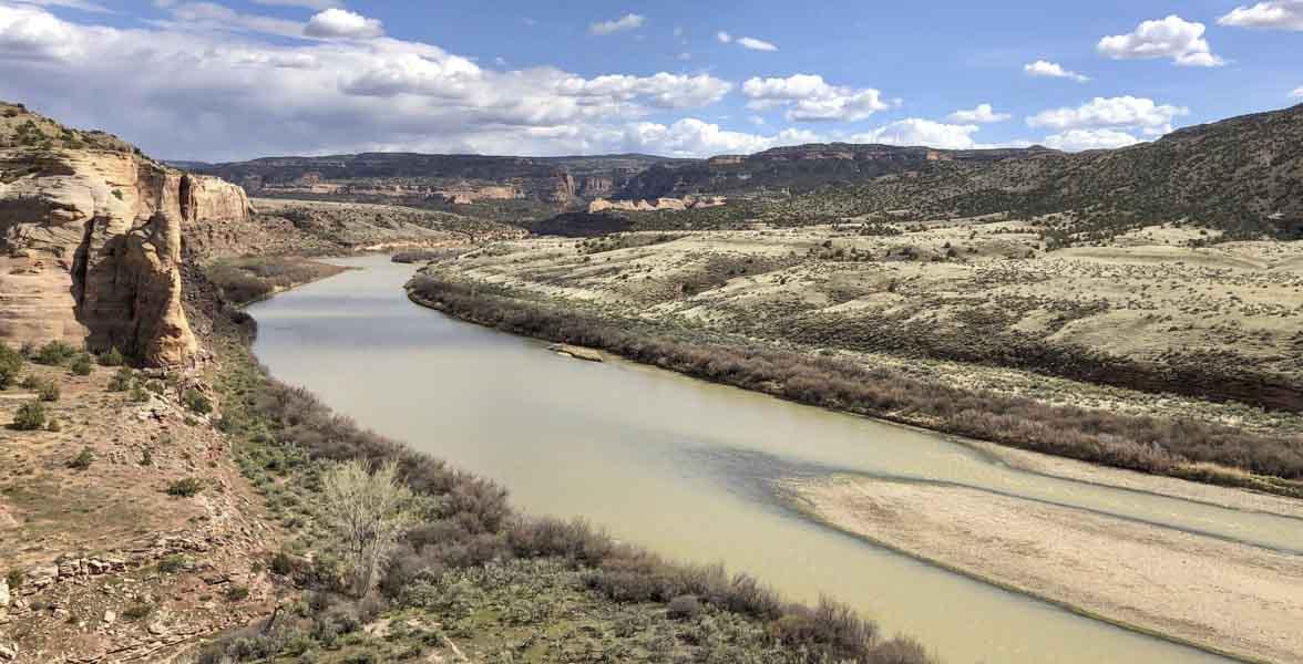 The Colorado River.