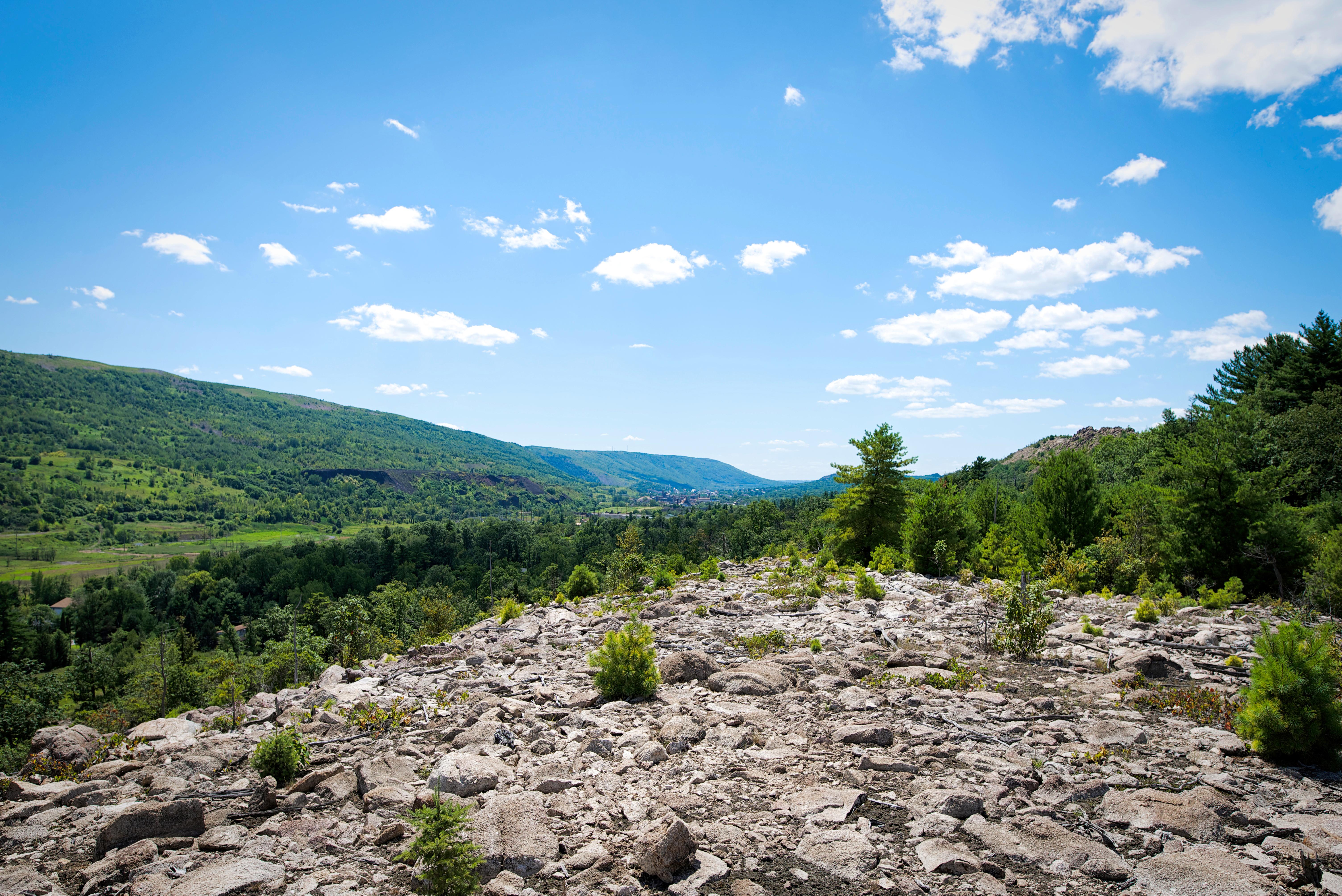 View along Kittatinny Ridge