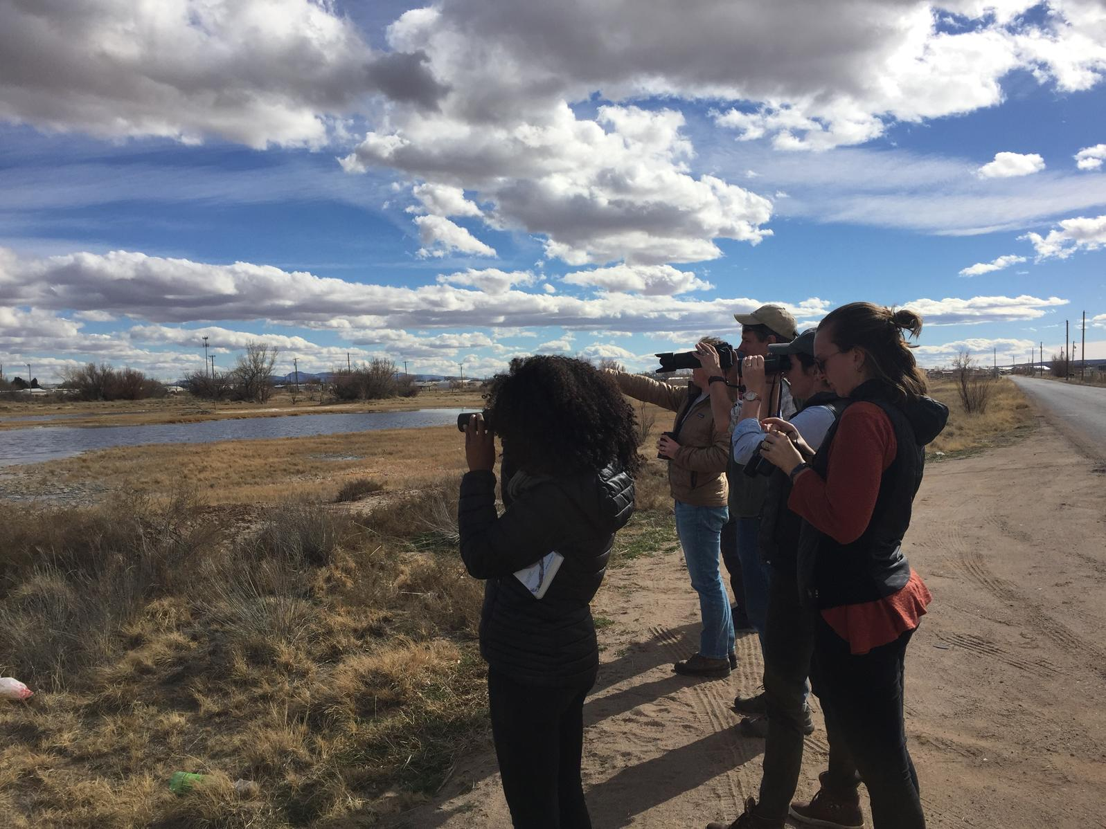 Audubon NM staff at Belen Marsh
