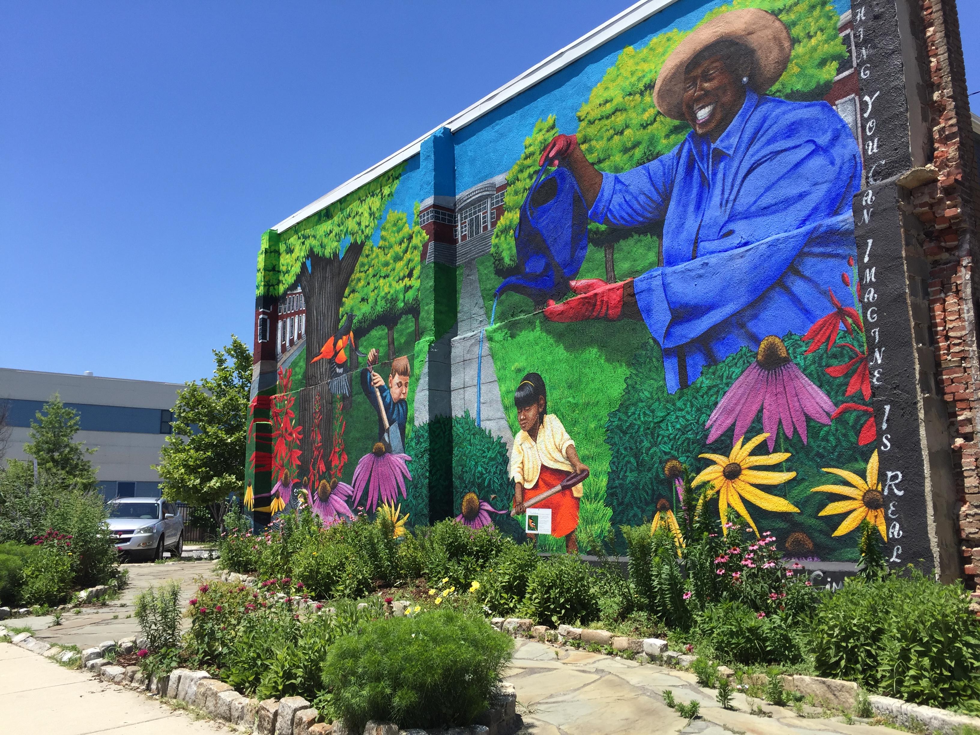 Mural Garden in Baltimore